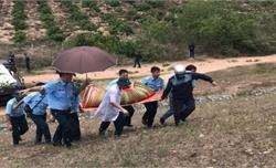Máy bay quân sự rơi ở Khánh Hòa: Đưa thi thể 2 sĩ quan tử nạn về Nhà tang lễ Quân y 87