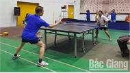 Hơn 90 VĐV tham gia Giải Vô địch Bóng bàn TP Bắc Giang