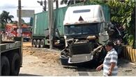 Tài xế container tông chết 5 người khai ngủ gật