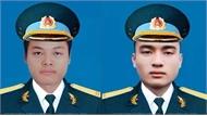 Lễ tang hai phi công hy sinh trong vụ máy bay rơi sẽ được tổ chức vào ngày 16-6