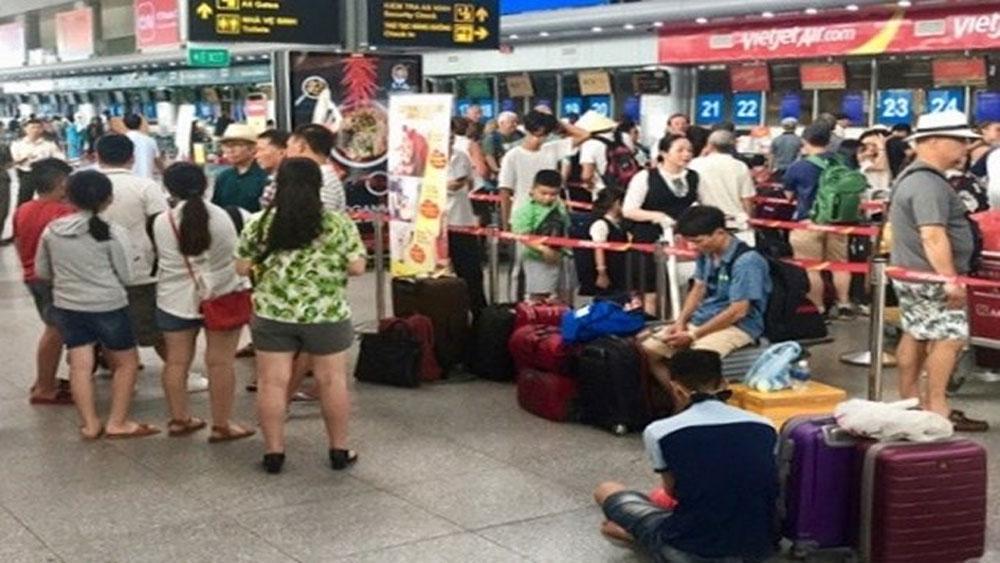 Hàng loạt chuyến bay của Vietjet, bị chậm, hủy chuyến, kéo dài, hãng hàng không Vietjet