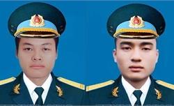 Tổ chức trọng thể lễ viếng và truy điệu hai phi công hy sinh trong khi làm nhiệm vụ huấn luyện bay