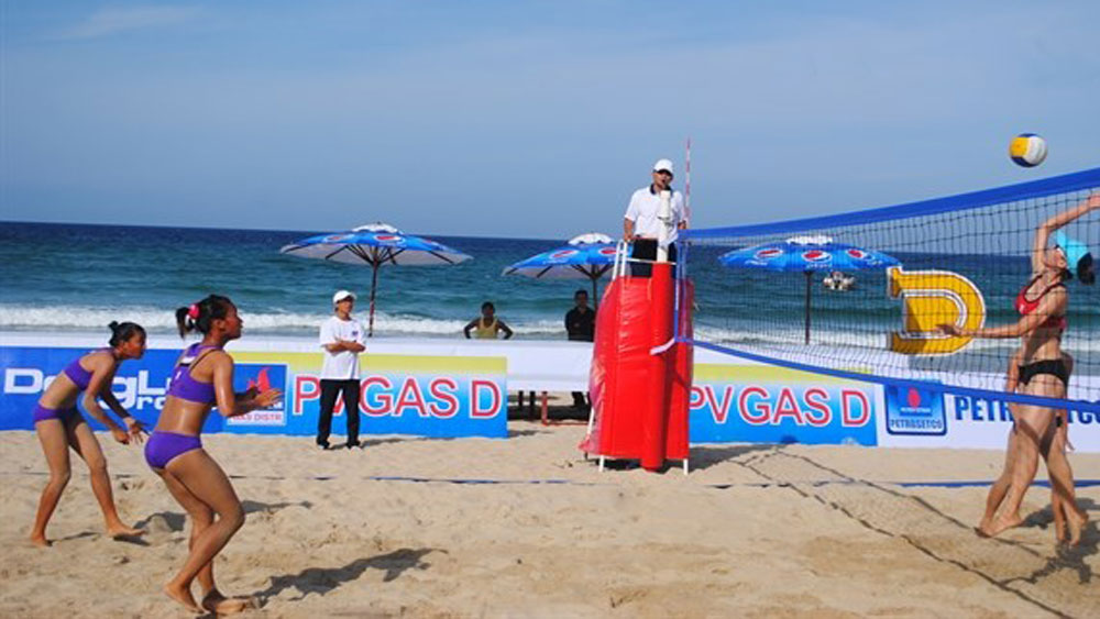 Central coastal village to host int'l women's beach volleyball