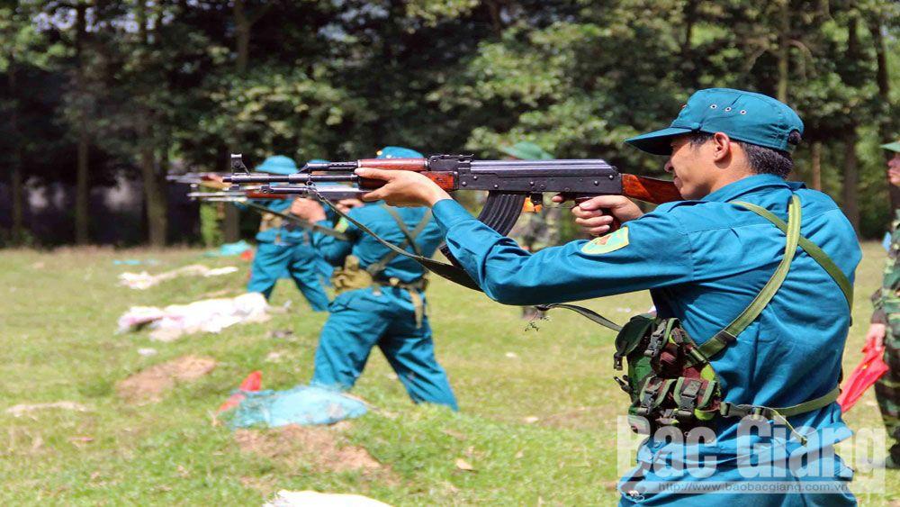 quân đội, Bộ Chỉ huy Quân sự, Bắc Giang, lực lượng vũ trang, Hội thao