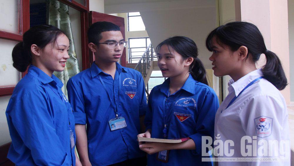 kỳ thi THPT Quốc gia, thí sinh, Bắc Giang, học sinh, nhà trường, điểm thi, thi, giáo dục