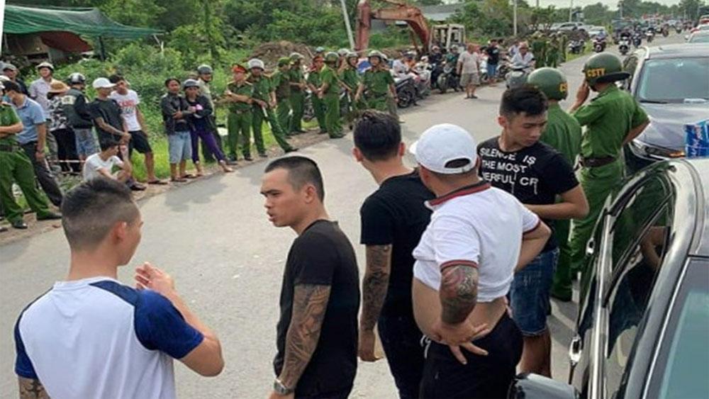 Bắt giữ thêm, một nghi can, vụ giang hồ vây xe công an, Ngô Văn Giang, Giang 36,  Tuấn nhóc