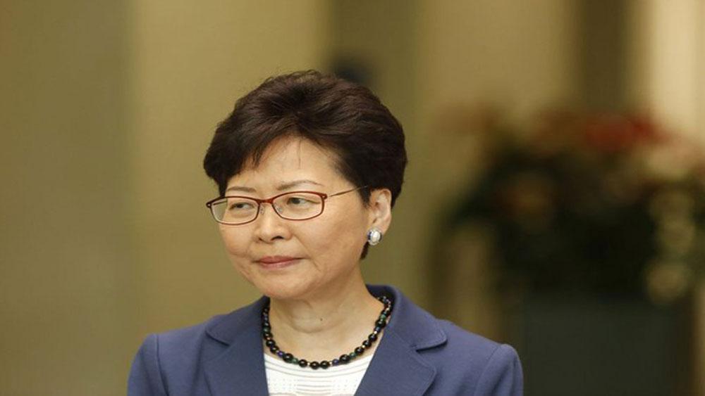 Lãnh đạo Hong Kong, công khai xin lỗi người dân,  Carrie Lam, dự luật dẫn độ Hong Kong