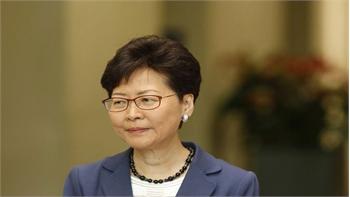 Lãnh đạo Hong Kong công khai xin lỗi người dân