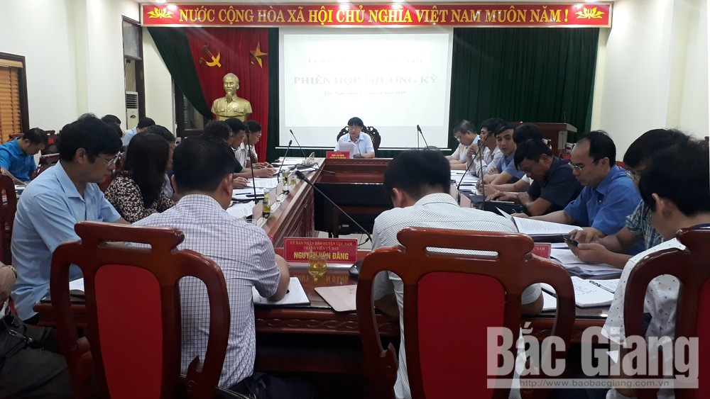 Lục Nam: 10/15 chỉ tiêu phát triển KT- XH hoàn thành trên 50% kế hoạch năm
