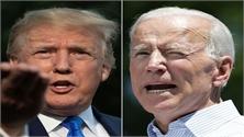 Thăm dò bầu cử Mỹ 2020: Ứng cử viên J.Biden tạm vượt Tổng thống D.Trump