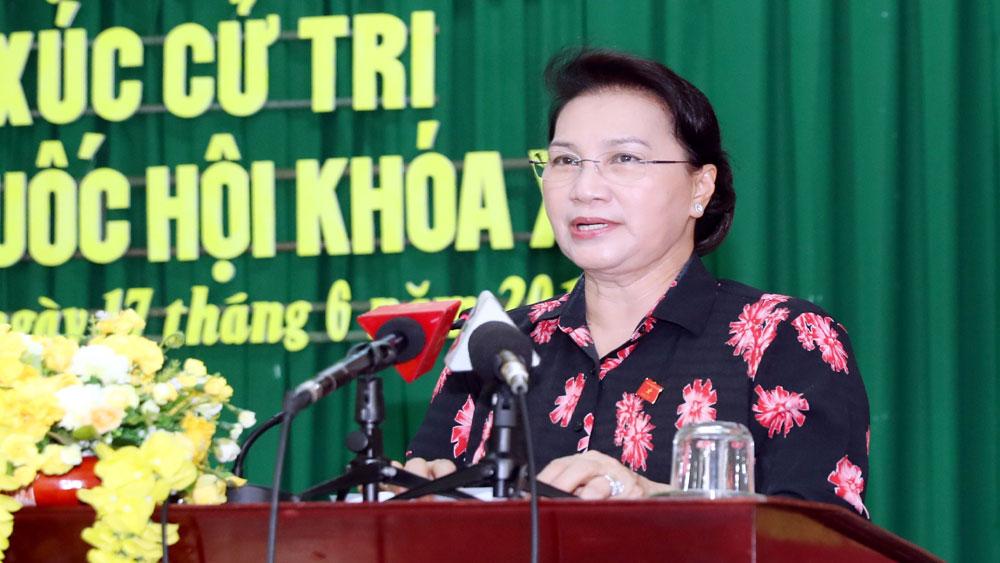 Chủ tịch Quốc hội Nguyễn Thị Kim Ngân, tiếp xúc, cử tri tại Cần Thơ