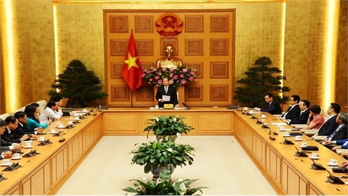 Thủ tướng Nguyễn Xuân Phúc gặp mặt Hội Doanh nhân tư nhân Việt Nam