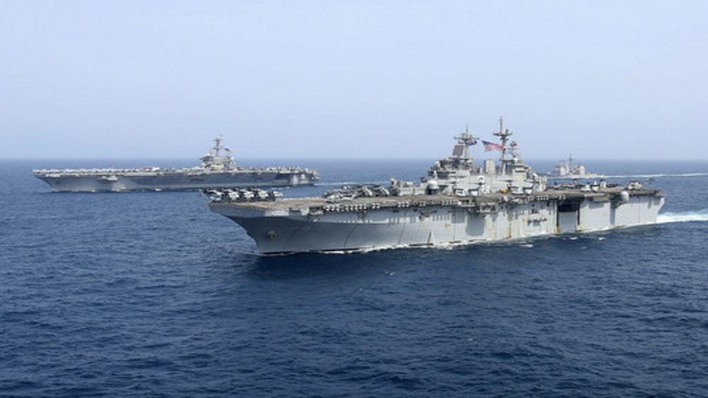 Mỹ điều thêm 1.000 quân tới Trung Đông