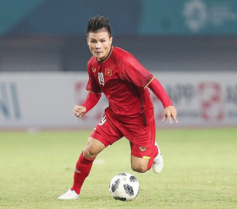 Quang Hai, top 6 Asian footballers, Europe, Vietnamese midfielder, six notable names, Southeast Asian football,  Special mention