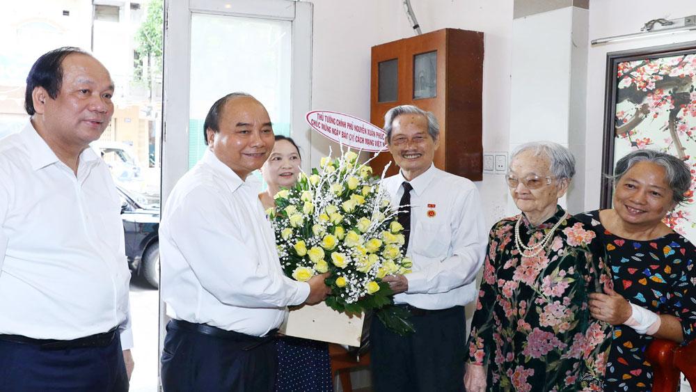 Kỷ niệm Ngày Báo chí Cách mạng Việt Nam 21-6, Thủ tướng thăm, chúc mừng, các nhà báo lão thành, Thành phố Hồ Chí Minh