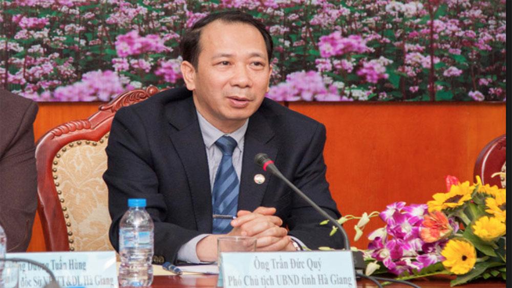 Kỷ luật cảnh cáo, Phó Chủ tịch UBND tỉnh, nguyên Giám đốc Sở Giáo dục và Đào tạo tỉnh Hà Giang,