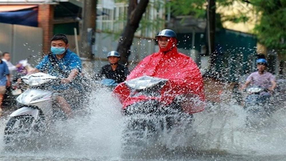 Dự báo thời tiết 19-6, Miền Bắc, ngày nắng cháy da, chiều tối, mưa mát mẻ