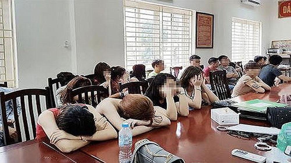 Bắt quả tang, hơn 90 thanh niên bay lắc, quán karaoke ở Yên Mỹ, Hưng Yên, quán karaoke PhanTom, Vũ Văn Hải,