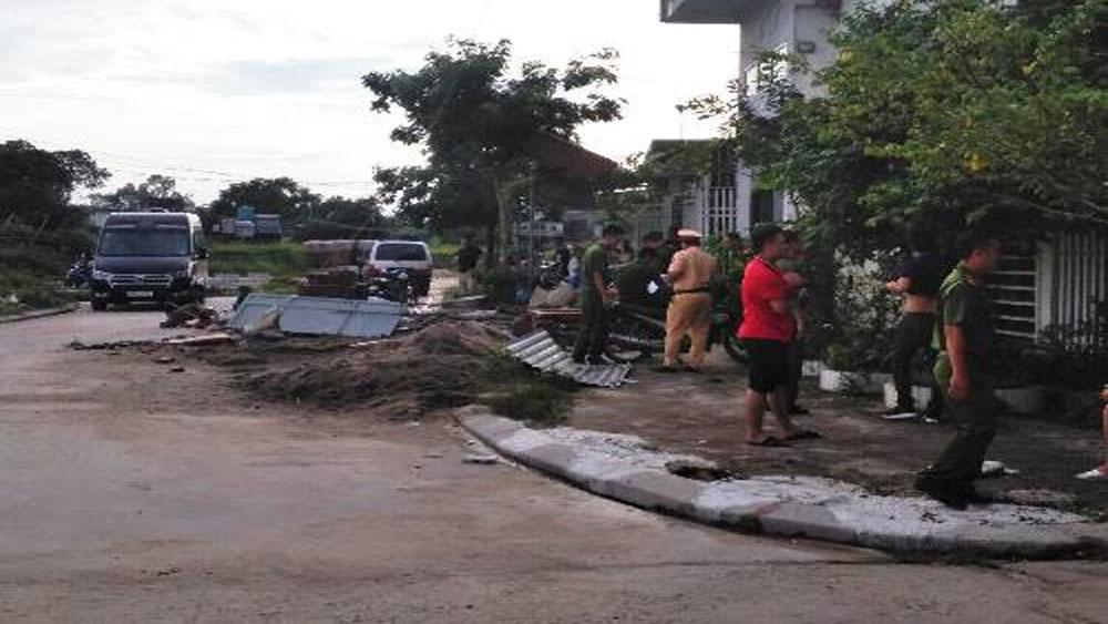 Hàng chục giang hồ, nổ súng, hỗn chiến ở Quảng Ninh, đánh nhau ở chợ Ka Long