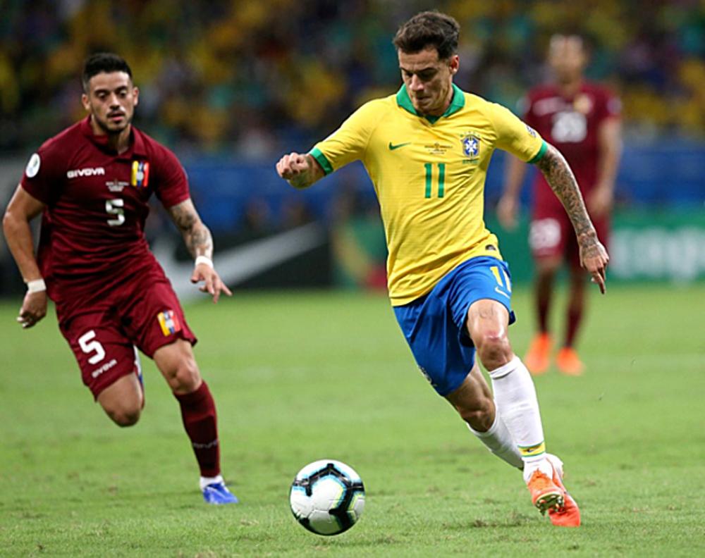 Brazil, Venezuela, Copa America, trực tiếp, tường thuật