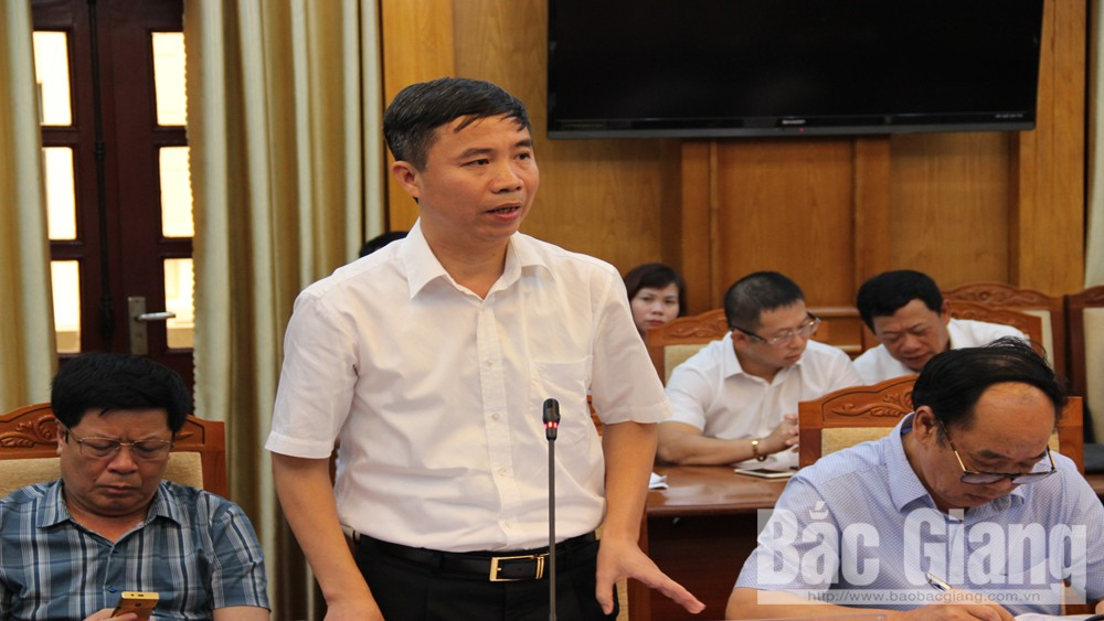 Bac Giang province, production development, yearly targets, regular meeting, socio-economic situation, socio-cultural field, orange and grapefruit, business development