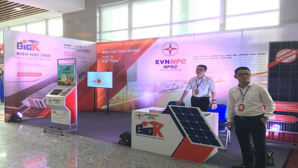 Công ty,  dịch vụ, điện lực miền Bắc,  phát triển điện mặt trời,  thương hiệu Việt