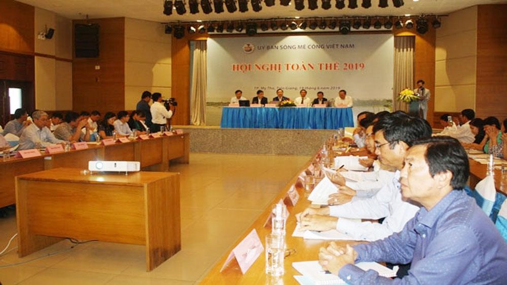 Ủy ban sông Mê Công Việt Nam, họp phiên toàn thể lần thứ nhất, năm 2019, Sông Mê Công