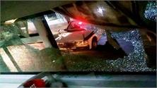 Một ô-tô chở khách bị ném đá trong đêm ở Thanh Hóa