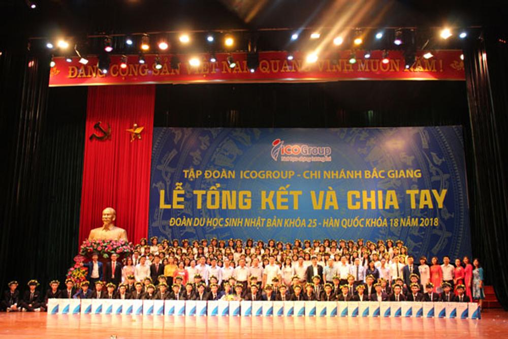 ICOGroup, đơn vị nhân lực lớn mạnh, Bắc Giang, vươn ra thế giới, khẳng định vị thế
