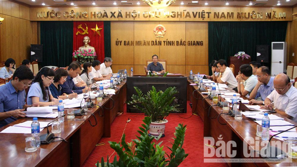 HĐND, thẩm tra tờ trình, kỳ họp thứ 7, Bắc Giang