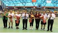 Phó Chủ tịch nước Đặng Thị Ngọc Thịnh dự Liên hoan Thể dục - Thể thao Phụ nữ toàn quốc năm 2019