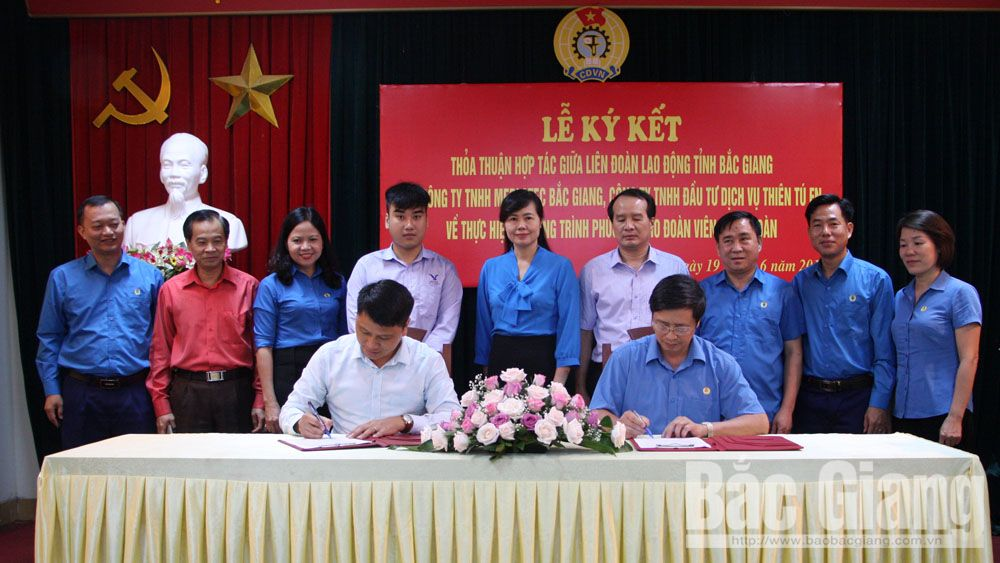 Welfare programme inked for trade union members