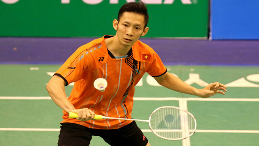 Vietnam badminton star, Philippines, Nguyen Tien Minh, Vu Thi Trang, individual titles,  FDG Cup badminton tournament, international team championship