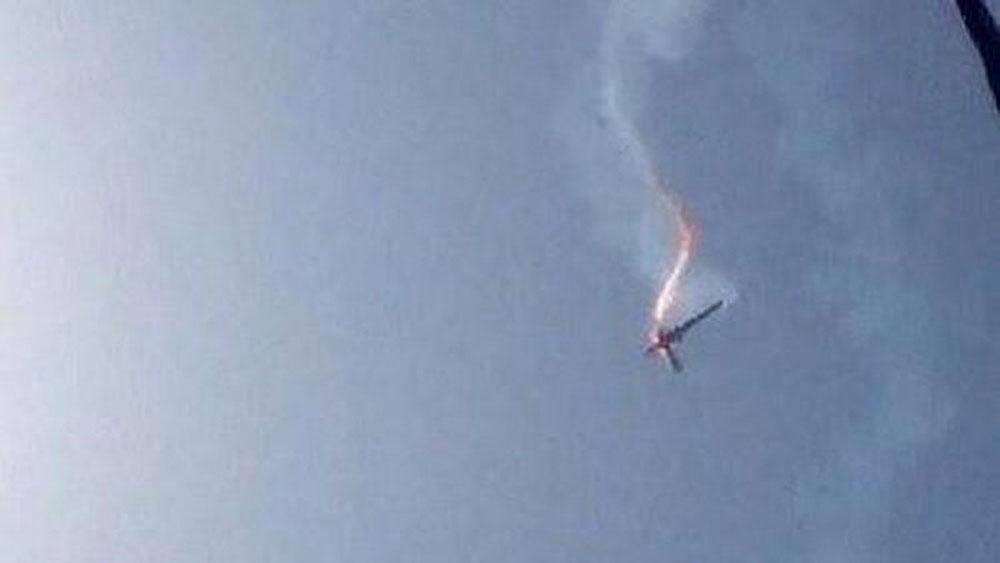 Iran, tuyên bố, bắn hạ máy bay do thám không người lái của Mỹ,