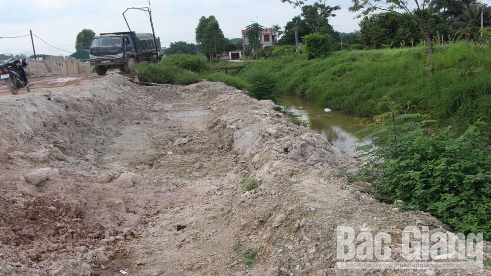 cao tốc Lạng Sơn, vùi lấp, kênh mương