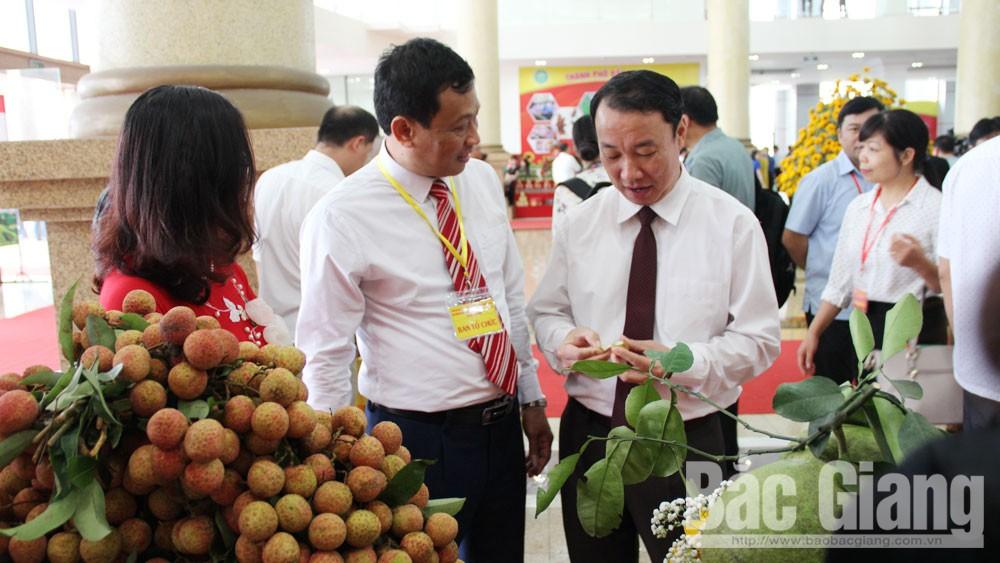 Bắc Giang, Bộ trưởng Bộ Nông nghiệp và PTNT Nguyễn Xuân Cường, vải thiều