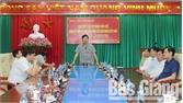 TP Bắc Giang gặp mặt lãnh đạo, cán bộ, phóng viên các cơ quan báo chí