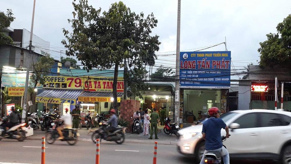 Khám xét, nhà chủ doanh nghiệp, gọi giang hồ, bao vây xe ô tô chở cán bộ công an Đồng Nai, ông Nguyễn Tấn Lương