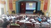 Huyện ủy Lục Nam đối thoại với trưởng thôn, bản, tổ dân phố và nhân dân
