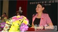 Đoàn Đại biểu Quốc hội tỉnh Bắc Giang tiếp xúc cử tri tại huyện Tân Yên