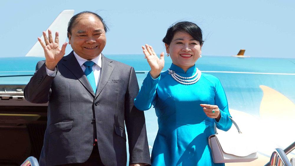 Thủ tướng Nguyễn Xuân Phúc lên đường tham dự Hội nghị Cấp cao ASEAN lần thứ 34