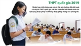 Vật dụng được phép mang vào phòng thi THPT quốc gia 2019