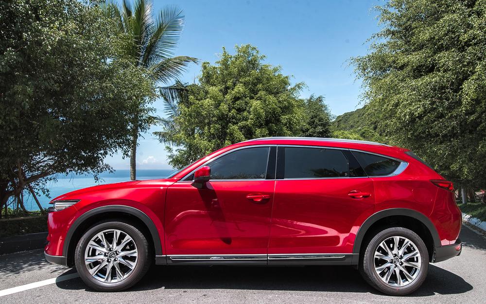 Mazda CX-8, xe 7 chỗ, giá xe CX-8