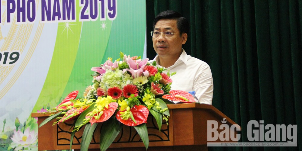 Bac Giang province, farm produce' output, provincial Cooperative Alliance,  biggest concentrated fruit growing area, common development trend, trade promotion events, linkage and value chains