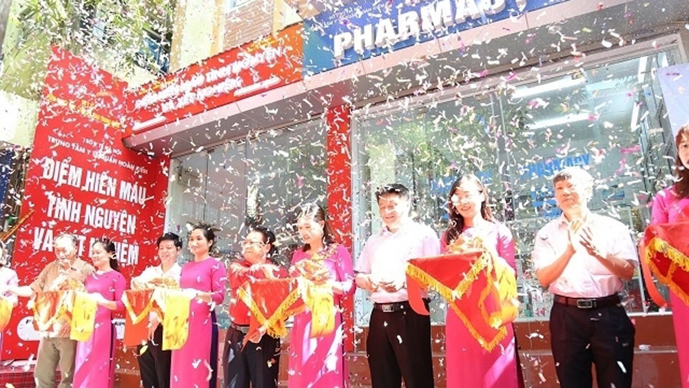 First permanent blood donation site opens in Hanoi