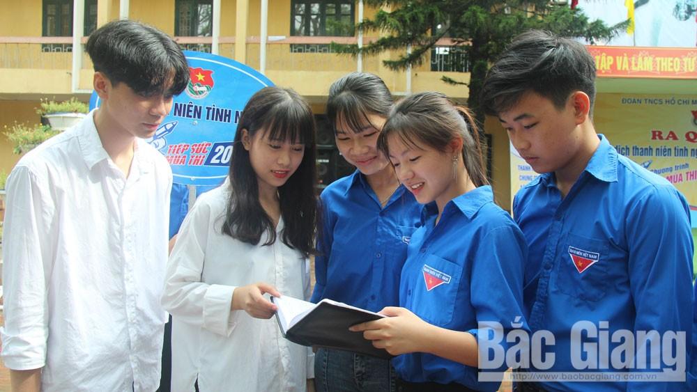 Bắc Giang, kỳ thi THPT quốc gia,  quy chế, thí sinh, cơ sở vật chất