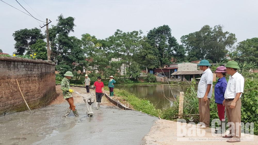 Bắc Giang, Lạng Giang,  Quy chế dân chủ, đồng thuận, quyền làm chủ, khơi thông nội lực, nông thôn mới