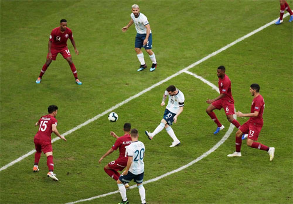 Argentina, Qatar, tứ kết