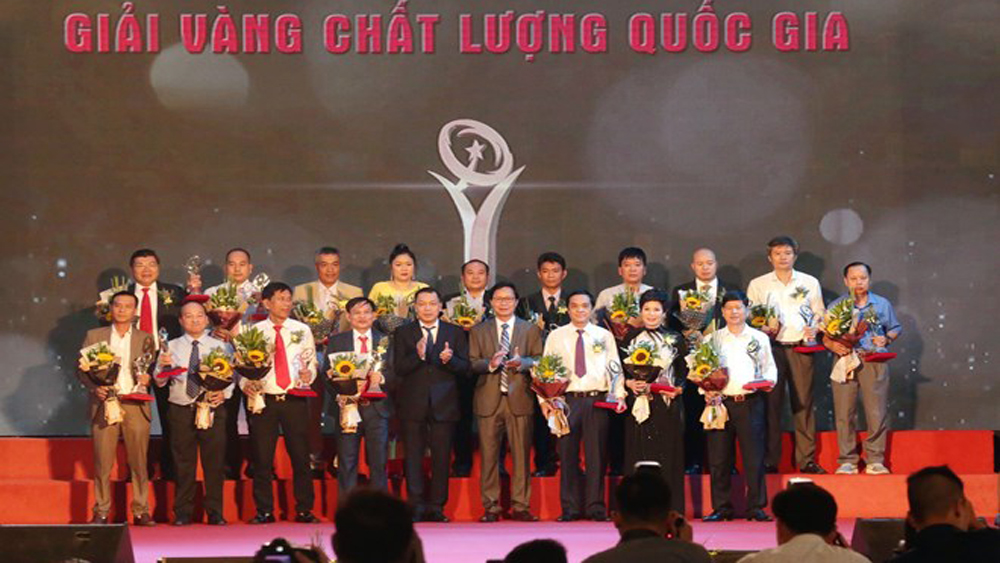 National quality awards presented to 75 businesses