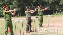 Bắc Giang đăng cai bảng 2 Hội thi điều lệnh, bắn súng, võ thuật công an nhân dân